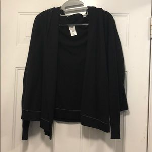 Cabi Winsome Double Layer Cardigan Sweater #3355